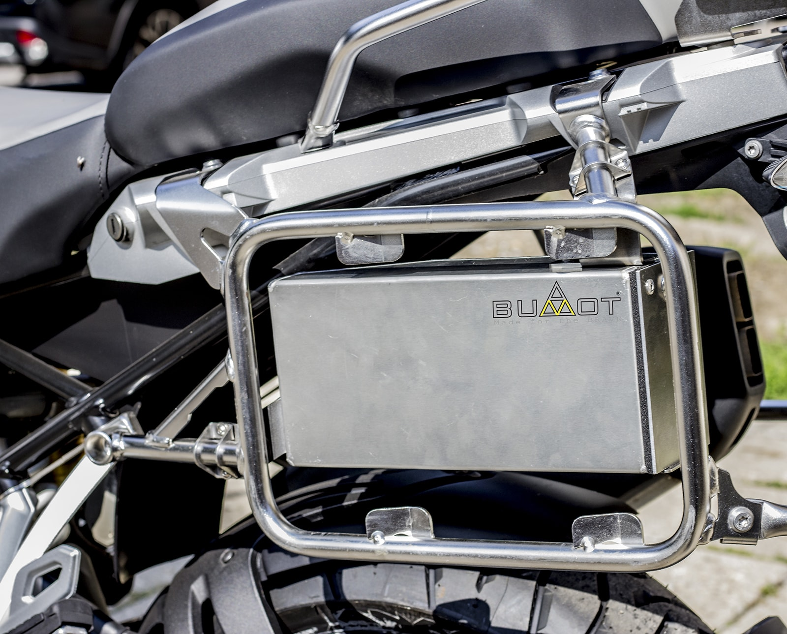 Panniers system for Original BMW racks of 1200/1250 GSA LC ...