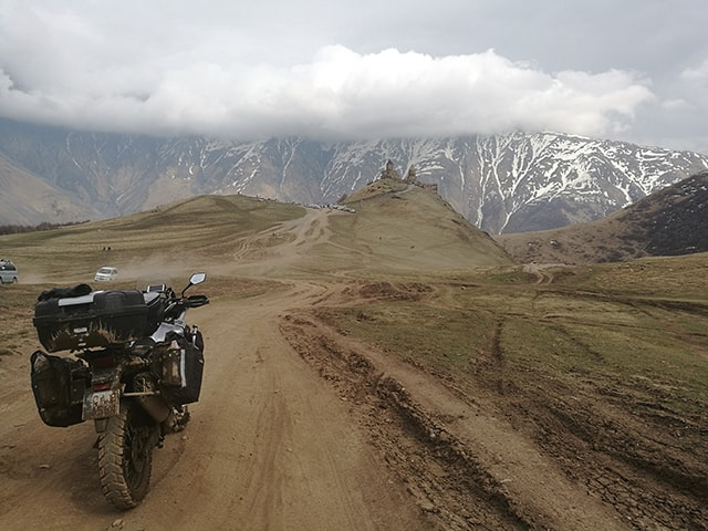 13,000 kms living out of  the  Xtremada soft panniers