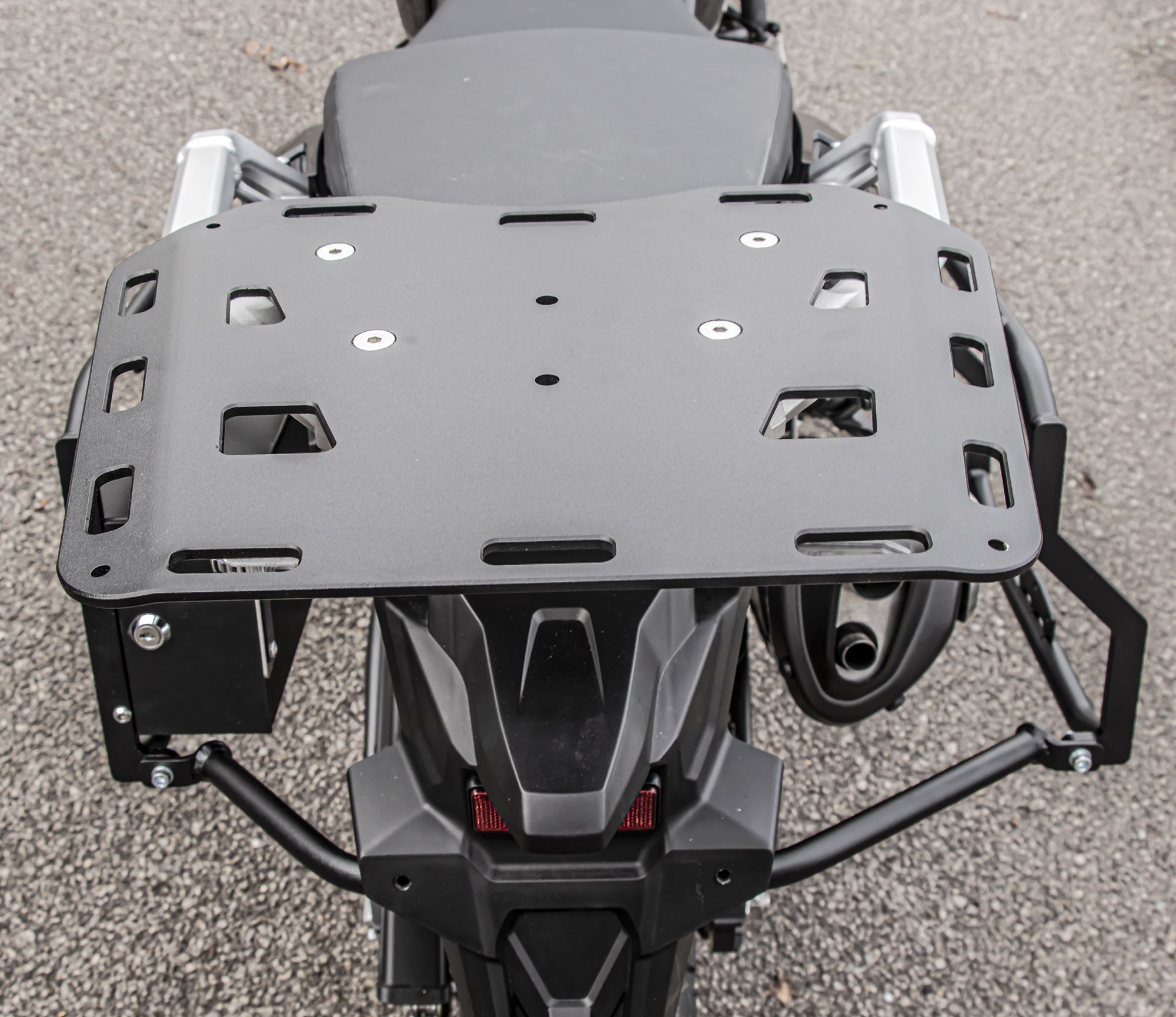 Soft Rear Luggage Rack