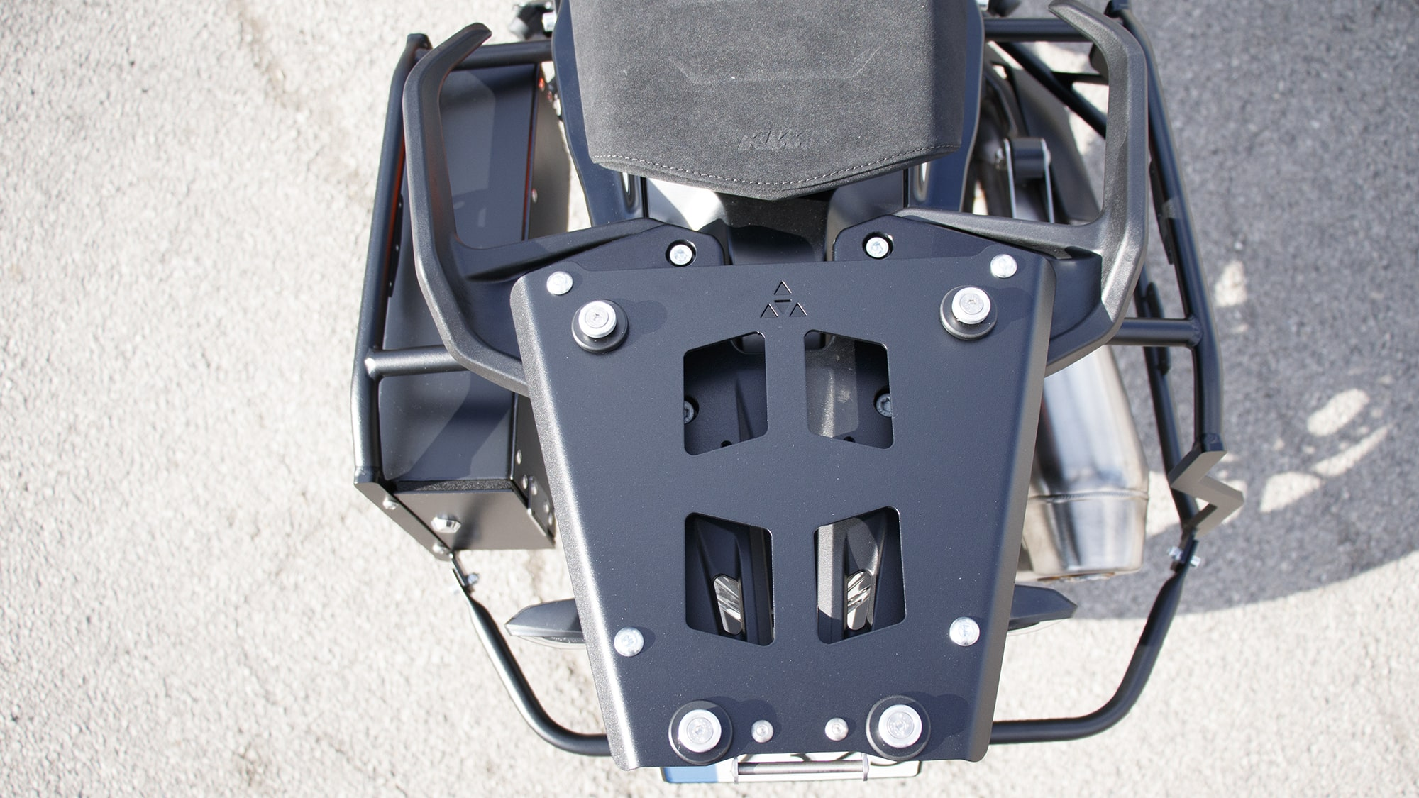 EVO top case mounting plate 21KTM