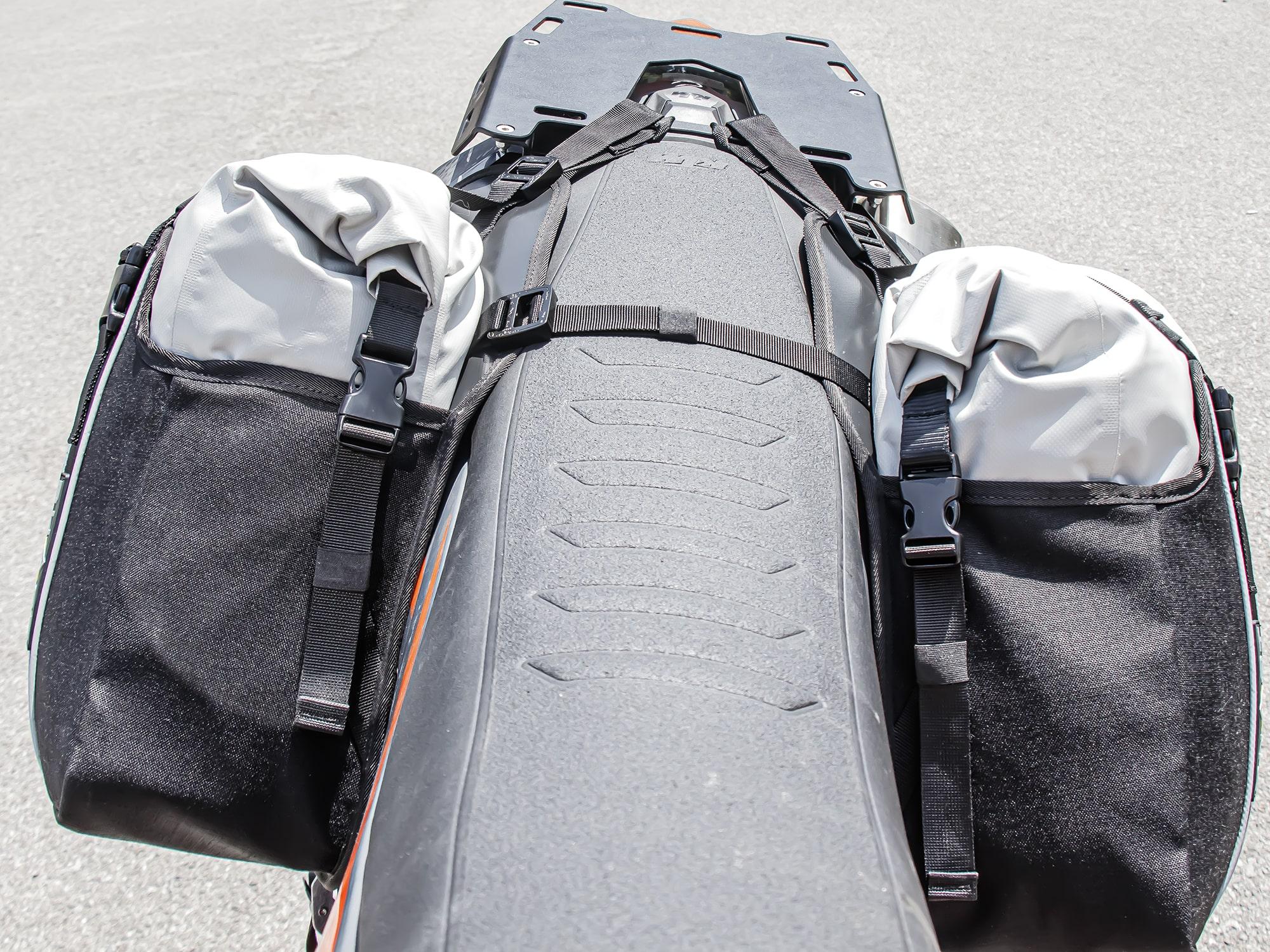 Xtremada TT  Rackless saddle bags
