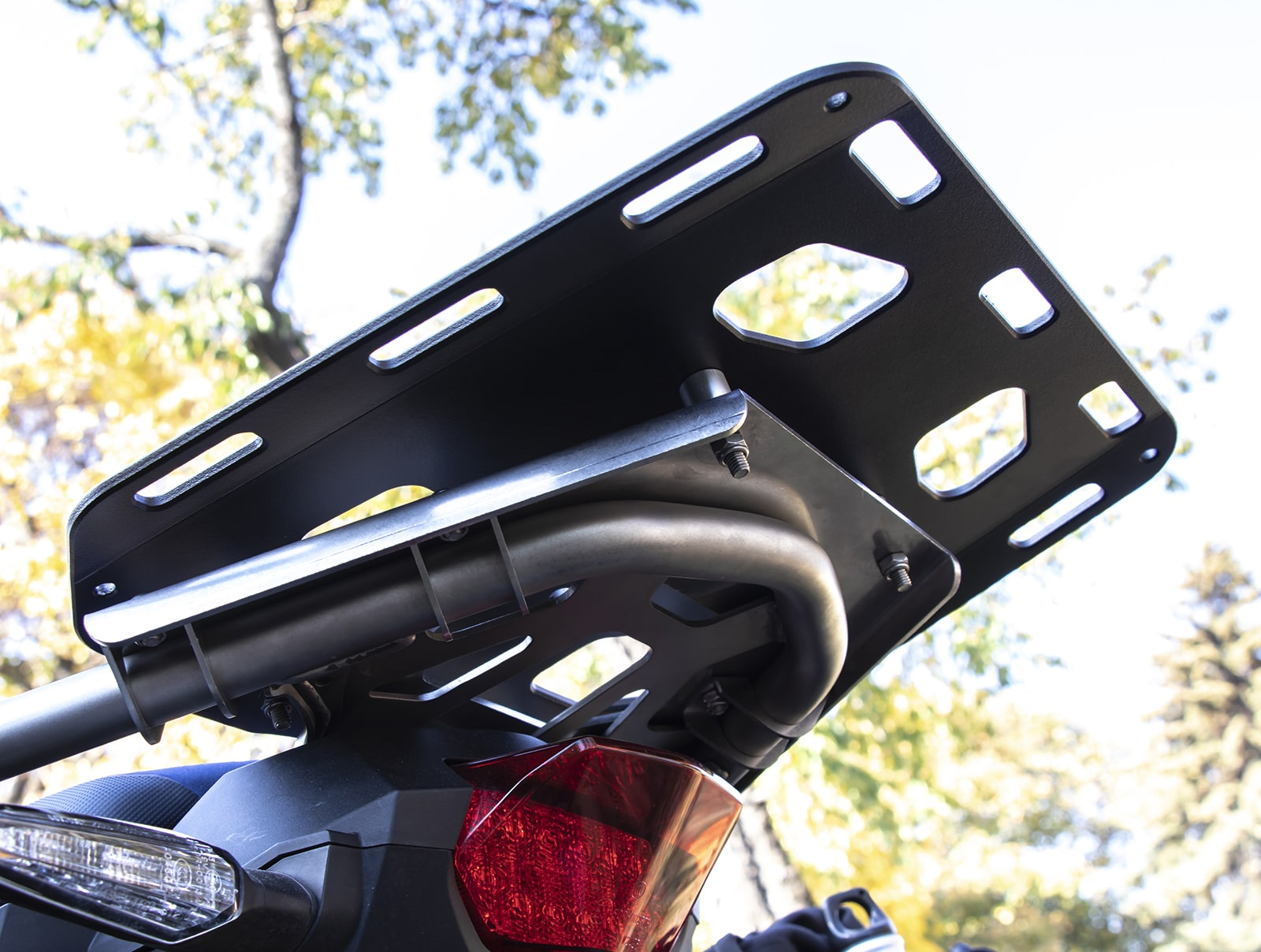 Soft luggage rear rack ATAS