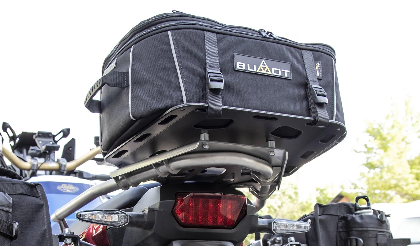 Soft luggage rear rack ATAS