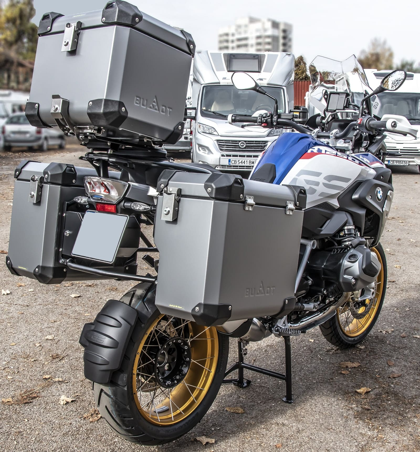 Defender EVO panniers system