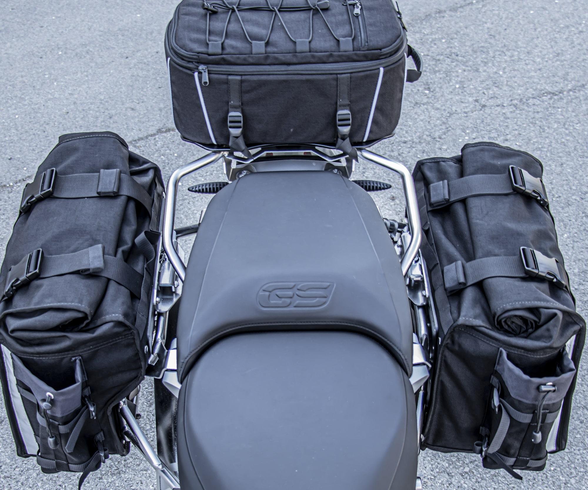 Xtremada soft panniers  for Original BMW pannier racks of GSA LC