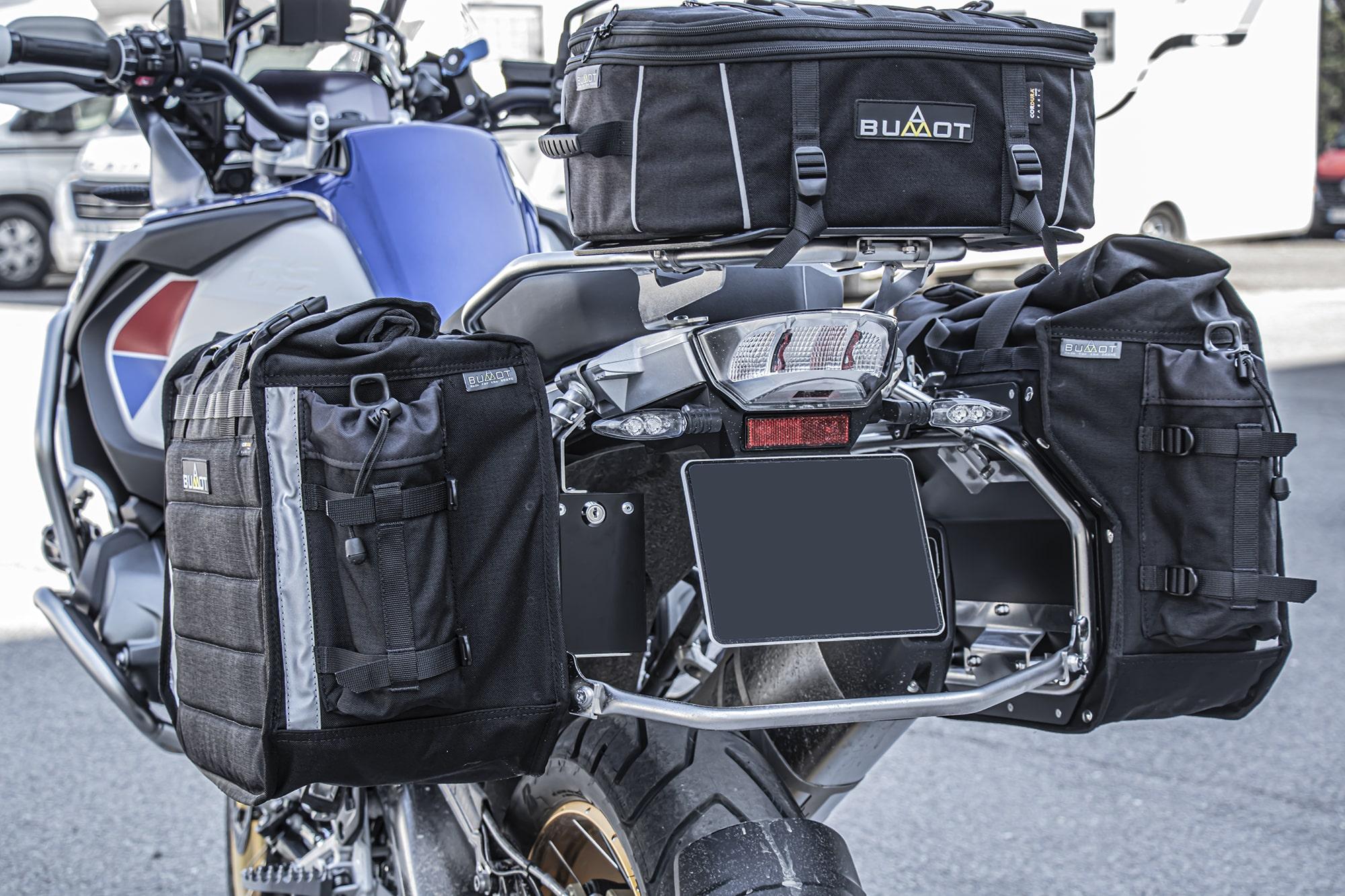 Xtremada soft panniers for Original BMW racks  of 850/1200/1250 GSA