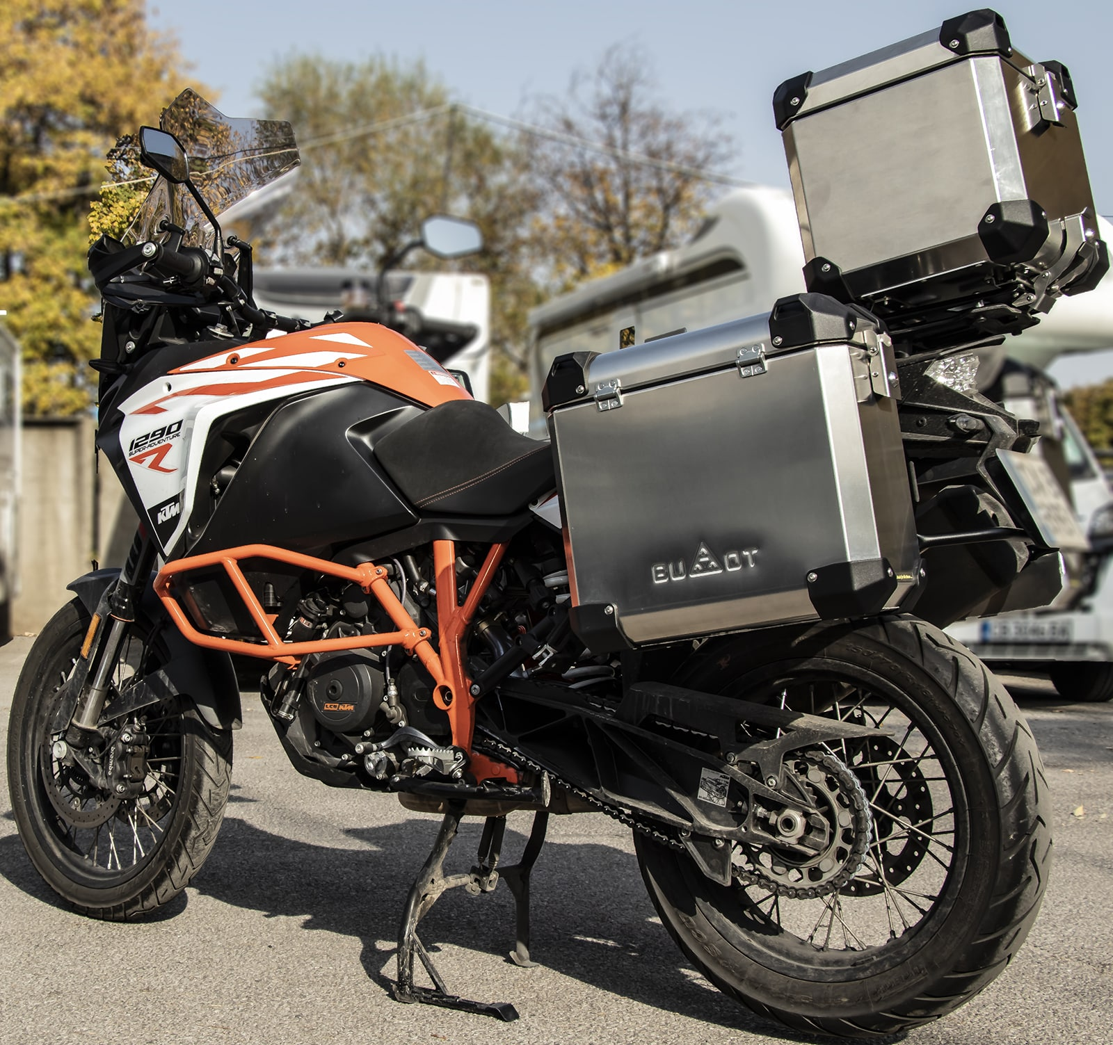 Defender EVO  panniers system up to 2020