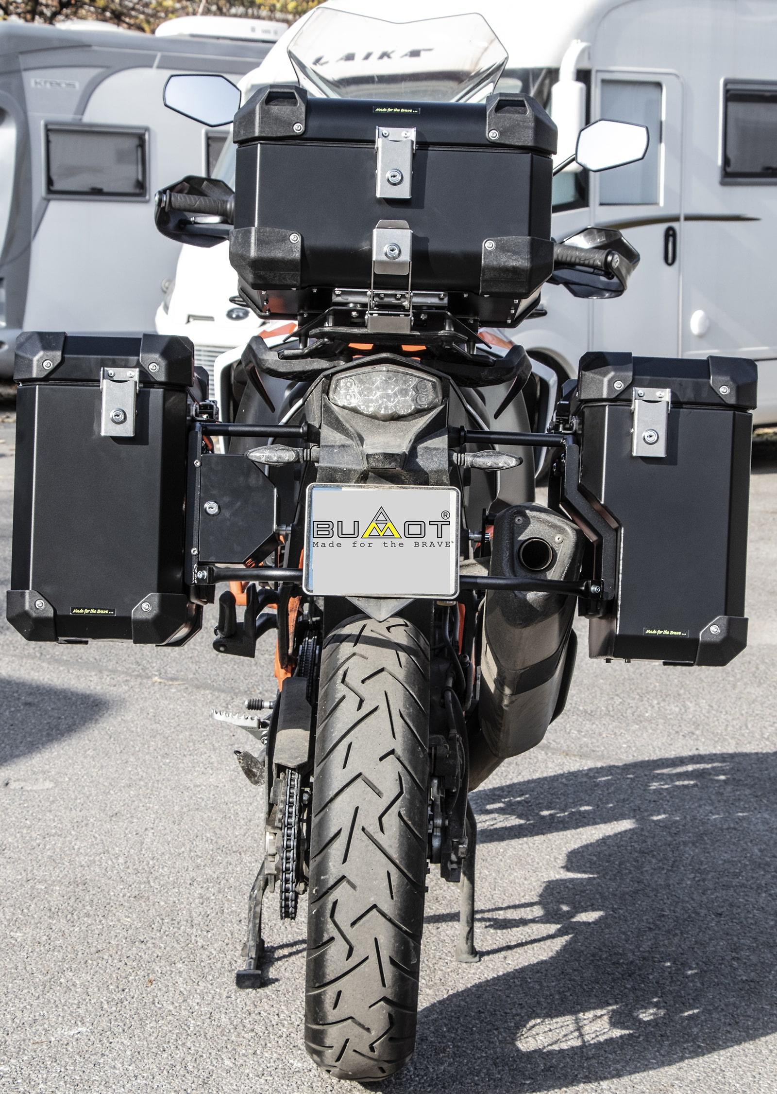 Defender EVO  panniers system
