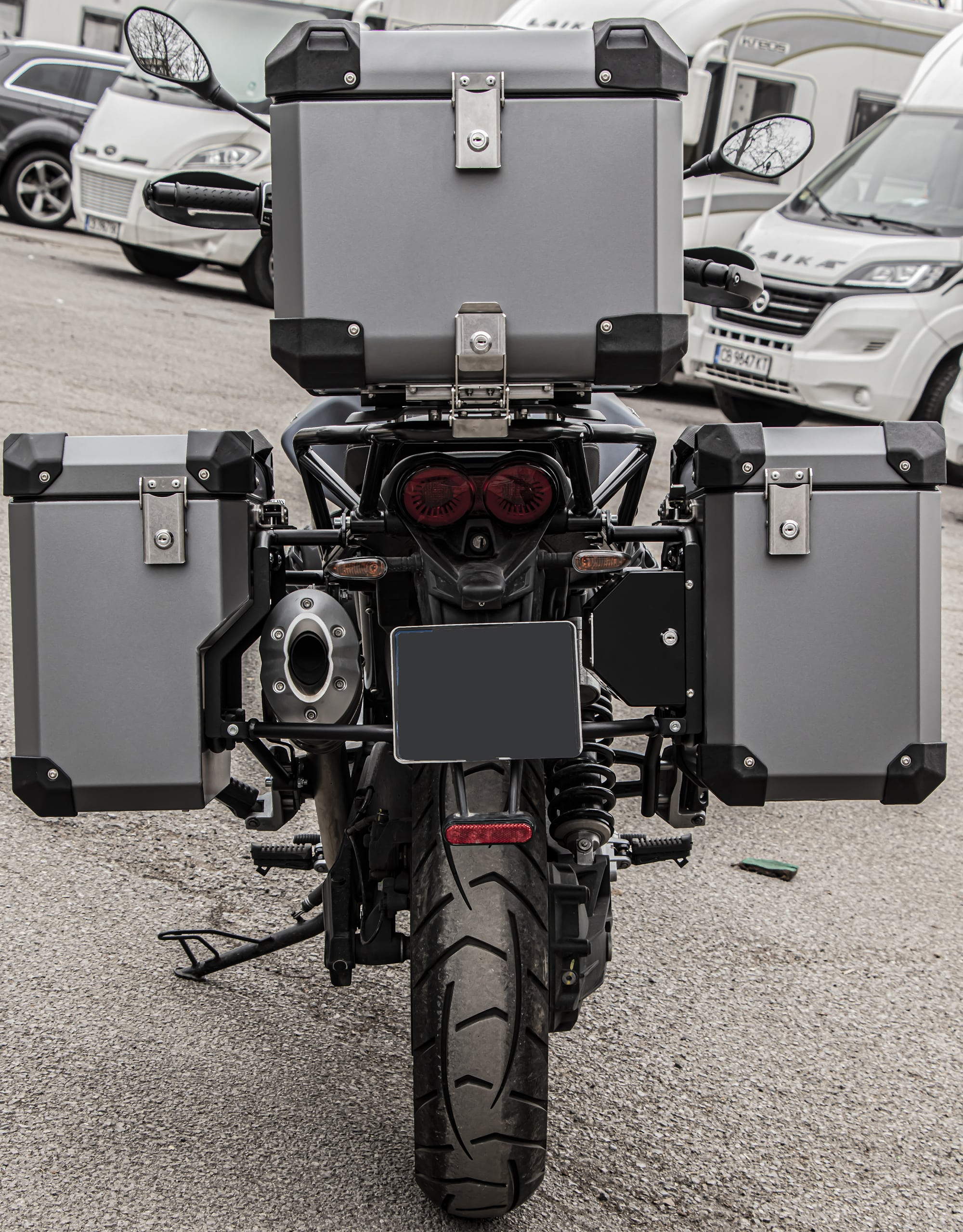 Defender EVO Pannier system