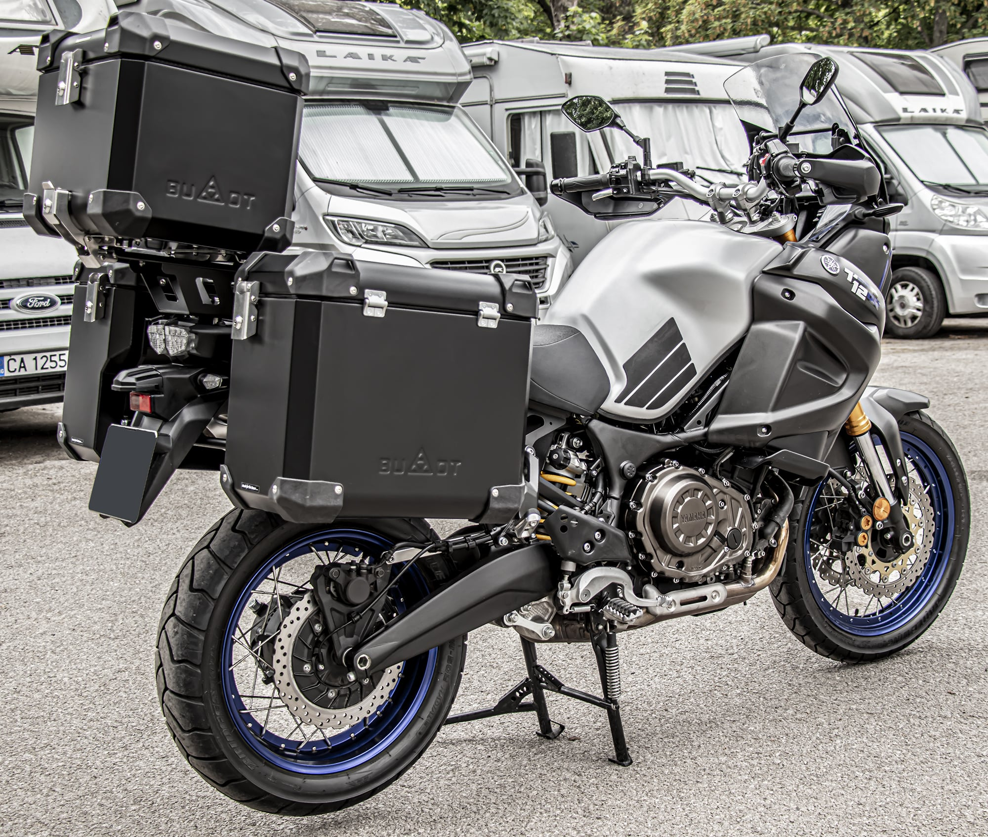 Defender EVO panniers systems
