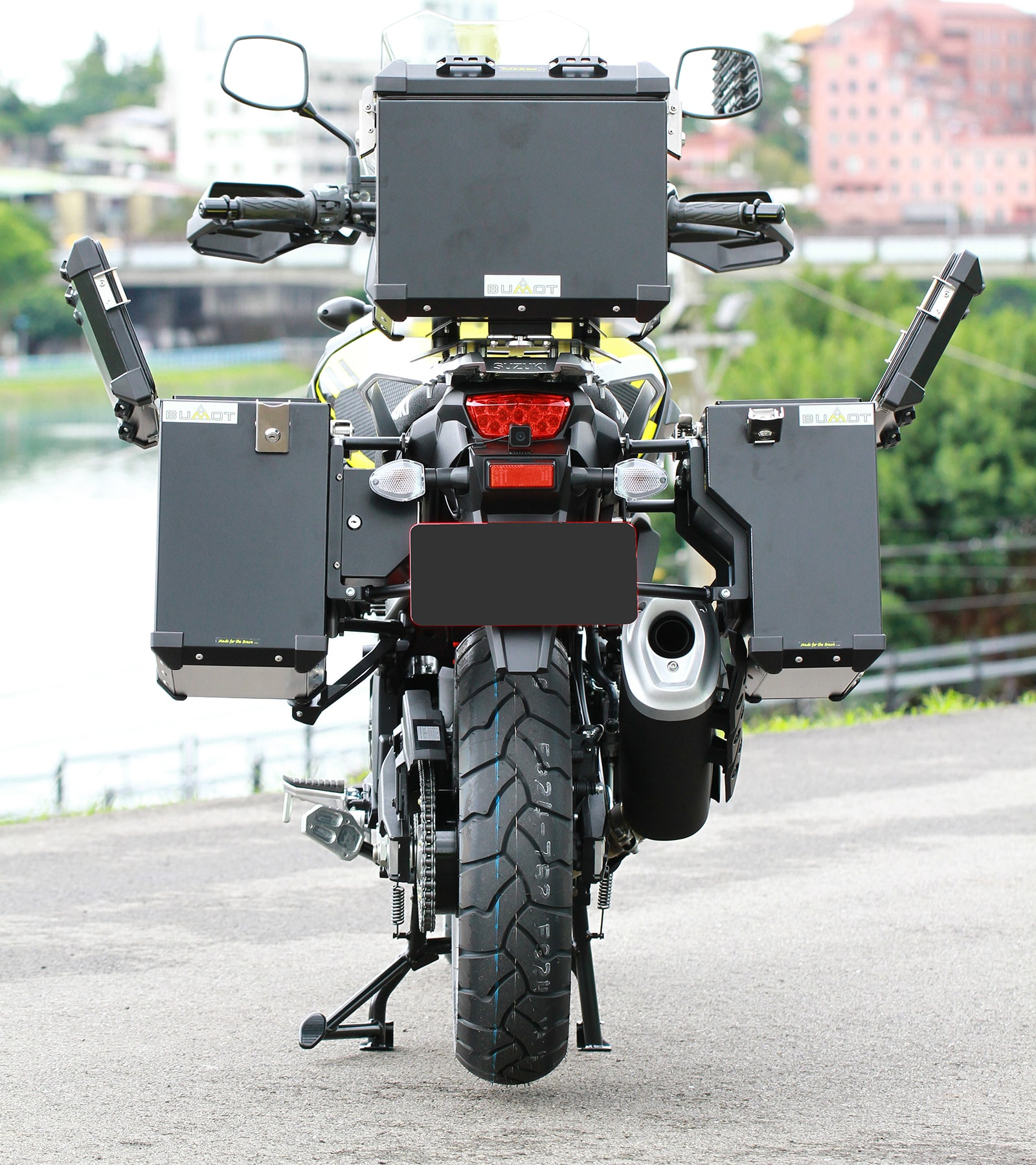 Defender panniers systems