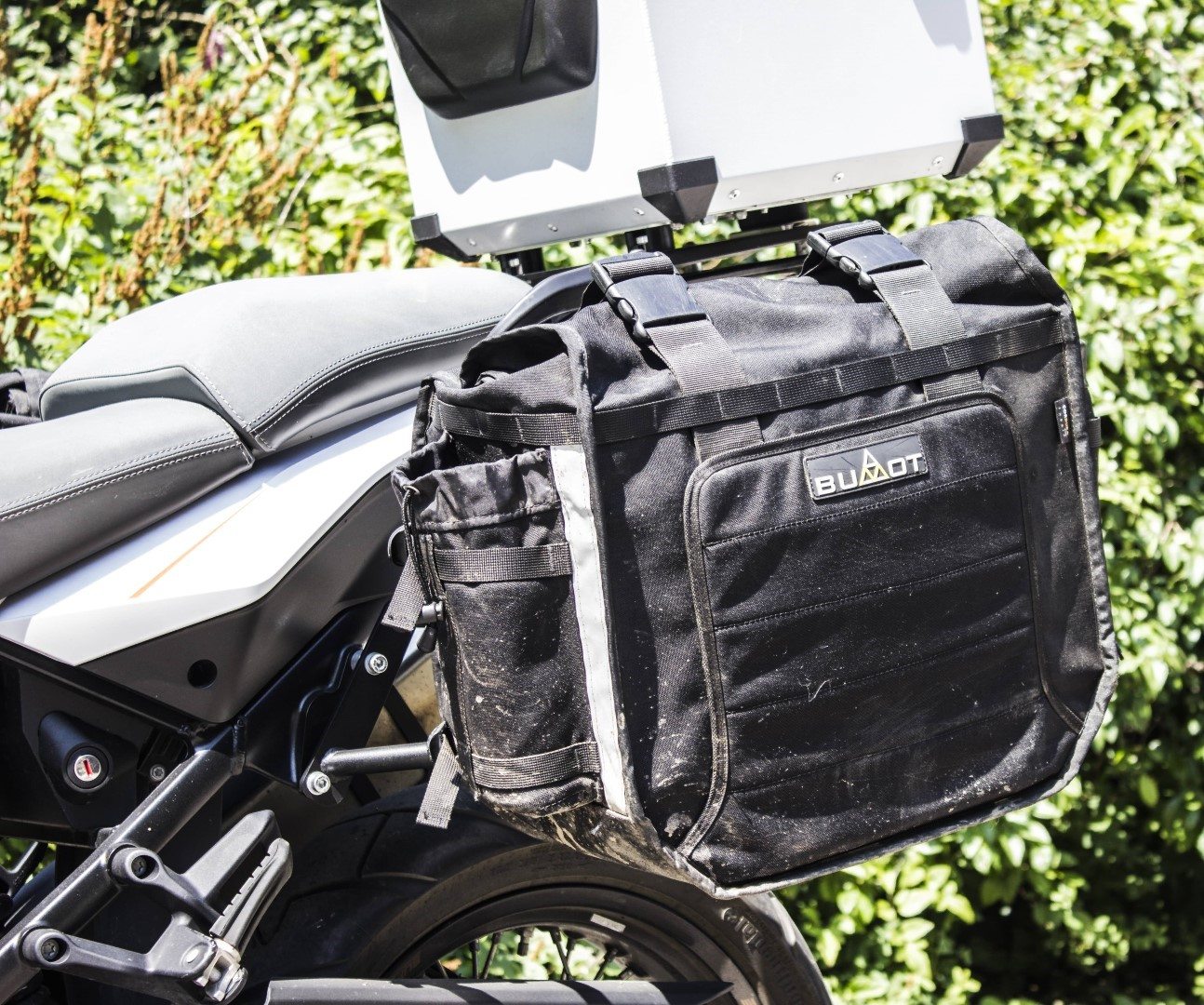 Xtremada soft panniers  for BUMOT pannier racks