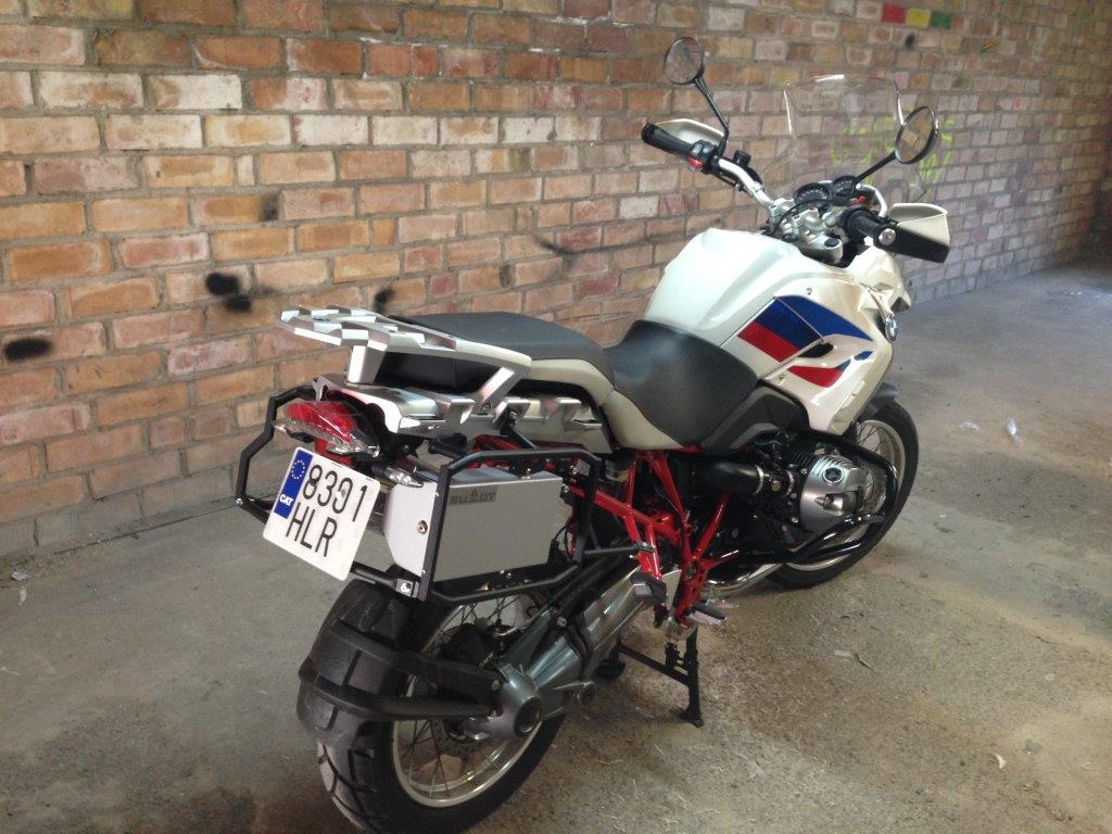 Pannier racks BMW R1200GS
