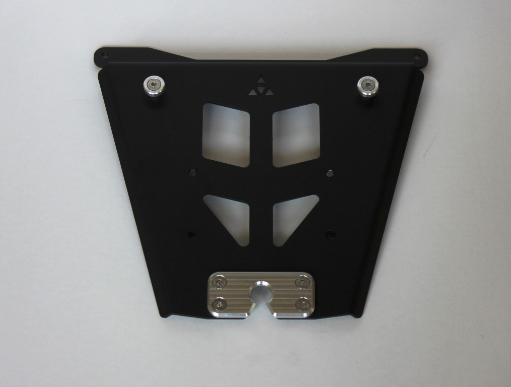 Top case mounting plate