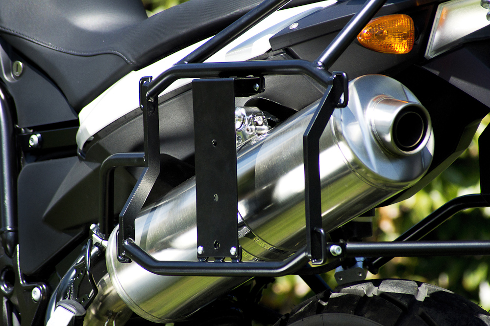 Bracket for Roto Pax - exhaust side