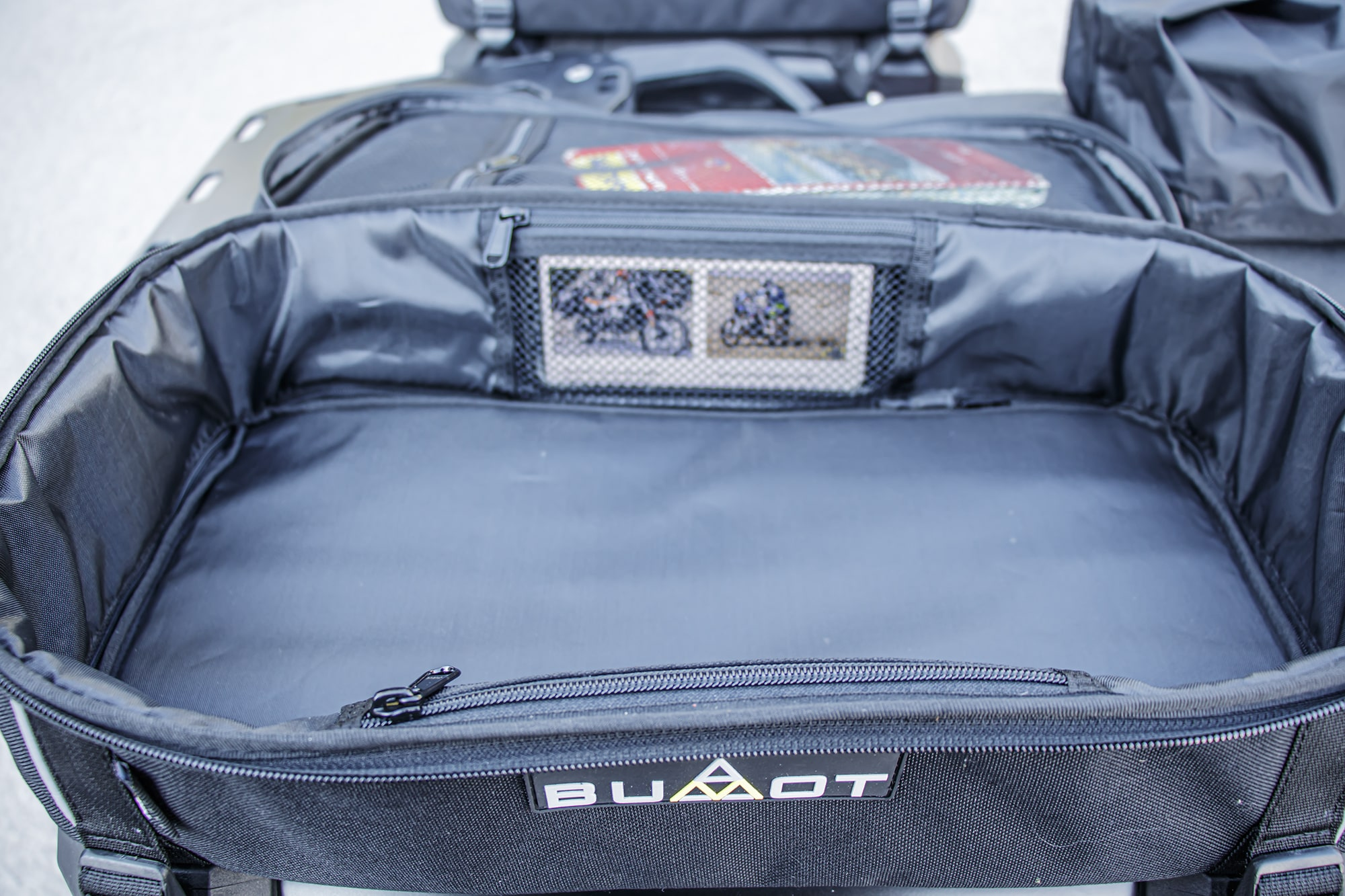 EVO pannier top bag